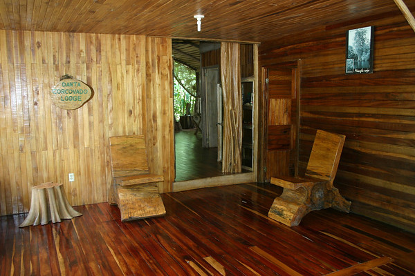 Danta Corcovado Lodge - southwest of La Palma (village), at the Dulce Forest Reserve - near the Los Patos Trail, into the Corcovado National - Osa Peninsula - Puntarenas province