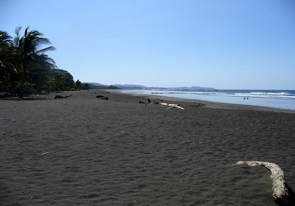 Playa Ostional - part of the Ostional National Wildlife Refuge, that protects the breeding beach for the Olive Ridley Sea Turtles - Nicoya Peninsula - Guanacaste province