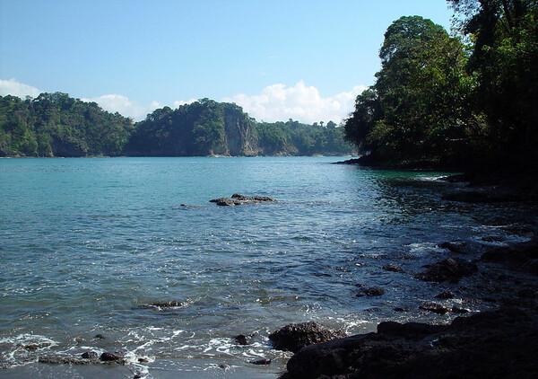 Playa Puerto Escondido (Hidden Port Beach) - Manuel Antonio National Park - Puntarenas National Park