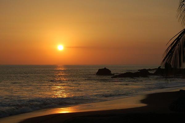 Sunset at Playa Juaco - Puntarenas province