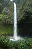 Catarata Fortuna (Fortune Waterfall) - a cataract waterfall, plunging 230 ft. (70 m) - Arenal Volcano National Park - Alajuela province