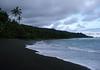 Sunrise clouds, above the tropical rain forest coastline, south of the Rio Claro - along the La Leona Coastal Trail - Corcovado National Park - Osa Peninsula - Puntarenas province