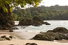 Playa Manuel Antonio - where the lush tropical rain forest, meets the Pacific Ocean - Manuel Antonio National Park - Puntarenas province