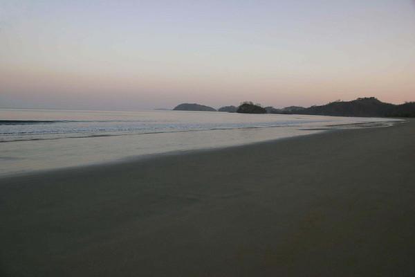 Dawn at Playa Brasilito - Guanacaste province