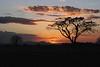 Sunset near Nuevo Leon (village) - northern Guanacaste province