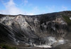 Volcan Turrialba - the sulfurous crater and the middle crater - Turialba Volcano National Park - Cartago province