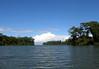 Lagunas del Tortuguero (Turtle Region Lagoon), northeastward towards it mouth, at the Caribbean Sea - Tortuguero Natiional Park - about 20 mi. (32 km) SE of the Nicaragua border - here in the Limón (lemon) province