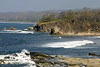 Waves breaking on Punta Nosara - Nicoya Peninsula - Guanacaste province