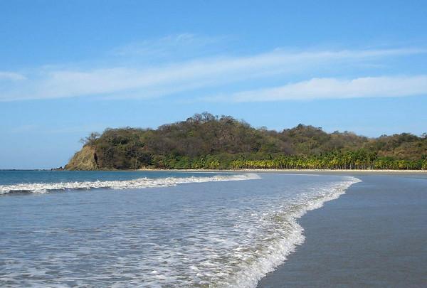 Playa Guiones, northern view - Nicoya Peninsula - Guanacaste province