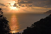 Sunset south of Punta Salsipuedes - along the La Leona Trail - Corcovado National Park - Osa Peninsula - Puntarenas province