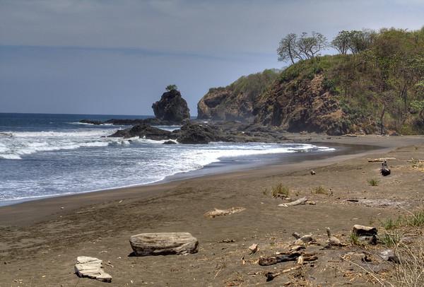 Punta India - just north of Playa Ostional,  near the town of San Juanillo - Nicoya Peninsula - Guanacaste province
