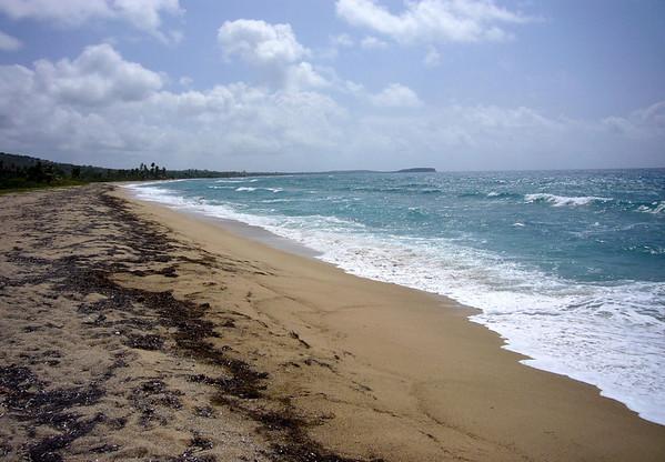 Playa Guiones (southern view) - Nicoya Peninsula - Guanacaste province