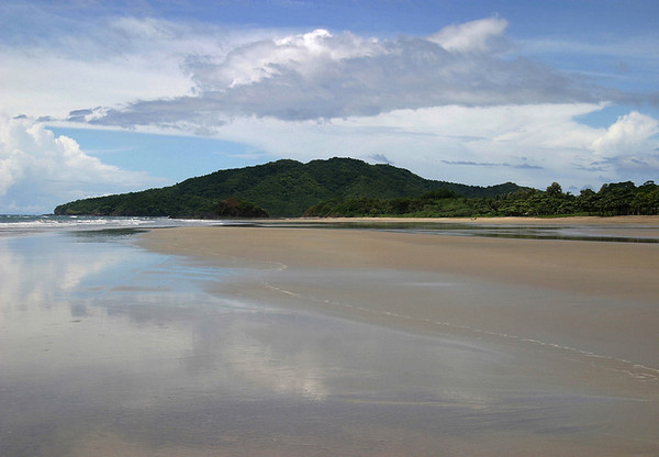 """Playa Grande - part of the Parque Nacional Marino Las Baulas (Leatherback Marine National Park) - home to Costa Rica's largest nesting ground, for the largest sea turtle, the """"Leatherback"""" - Nicoya Peninsula (northern section) - Guanacaste province"""