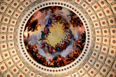040918 0270 Washington DC - Capital Hill Inside ceiling 2 _D _E _H _N ~E ~L