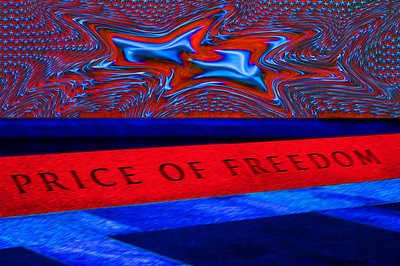 040918 0239 Washington DC - Lincoln Memorial Price of Freedom 3F _D _E _N ~E ~L