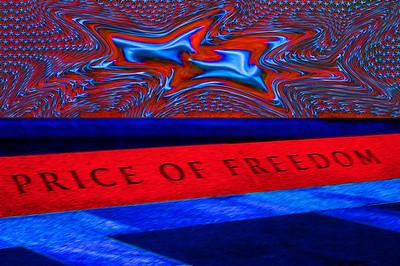 040918 0239 Washington DC - Lincoln Memorial Price of Freedom 3F _D _E _N ~E ~L
