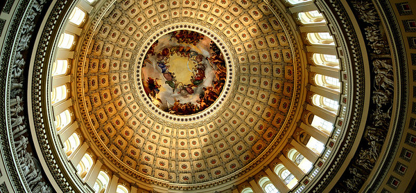 040918 0269 Washington DC - Capital Hill Inside ceiling great shot _D _E _H _N ~E ~W