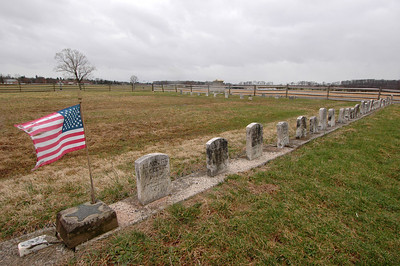 050404 2626 USA - Washington DC - Gettysburg - Graves B _D _E _N ~E ~L