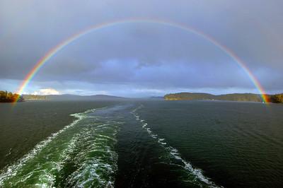 050412 2889 Canada - Victoria - BC Ferry - Rainbow _I ~E ~L