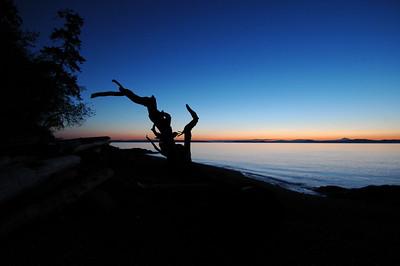050416 2976 Canada - Victoria - Agate Lane Sunrise _I ~E ~L