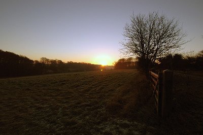 041227 2014 England - Henley - Christmas with Robertsons - Sonning Common Sunrise B _F _P ~E ~L