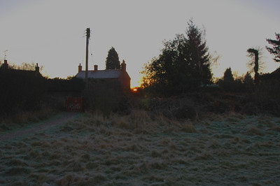041227 2011 England - Henley - Christmas with Robertsons - Sonning Common Sunrise B _F _P ~E ~L