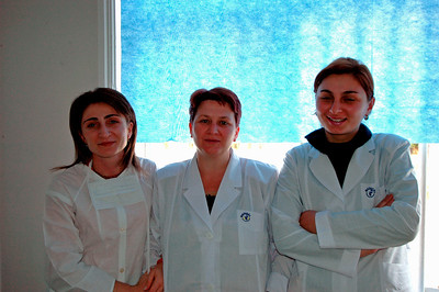 041115 1047 Georgia - Zugdidi Infectious Disease Hospital Human SS - Doctors _D _E _H ~E ~L