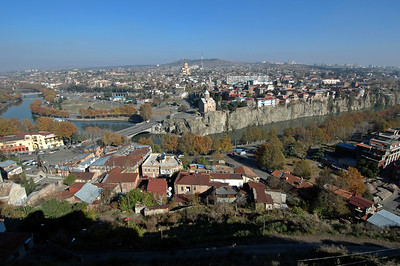 041119 1278 Georgia - Tbilisi - Church on the hill _C _E _H _N ~E ~L