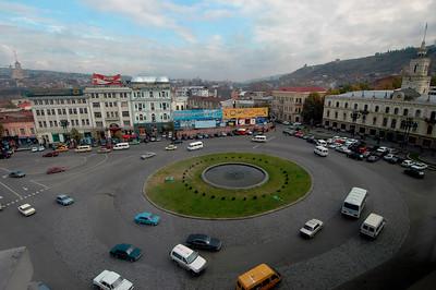 041111 0624 Georgia - Tbilisi Rustavi Square _D _E ~E ~L