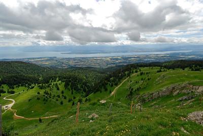 070626 7087 Switzerland - Geneva - Downtown Hiking Nyon David _E _L ~E ~L