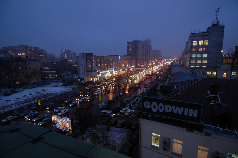 041228 2042 Russia - Moscow - Night lights from Office window _D _H ~E ~L