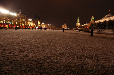 041231 2130 Russia - Moscow - New Years Eve - Pre-Celebration Red Square _P ~E ~L