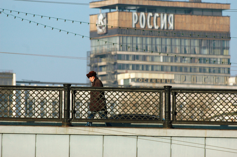 051105 0067 Russia - Moscow - Around the Town Sunday morning _E _I ~E ~L