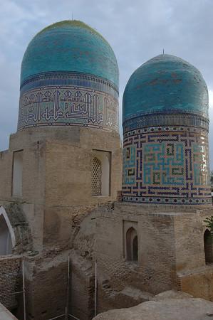 050426 3534 Uzbekistan - Samarkand - Shakhi Zinda Ensemble _D _H _N ~E ~L