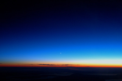 041020 0484 Uzbekistan - Flight to Tashkent Nightfall _D _E _I ~E ~L