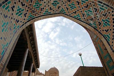 050426 3516 Uzbekistan - Samarkand - Shakhi Zinda Ensemble _D _H _N ~E ~L