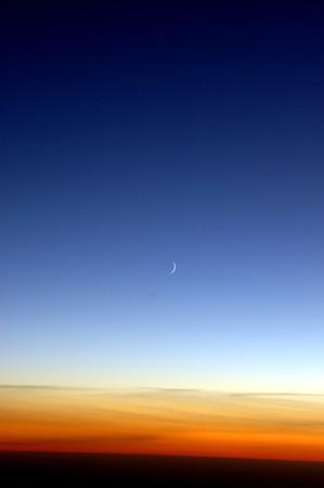 041020 0481 Uzbekistan - Flight to Tashkent MoonA _D _E _I ~E ~P