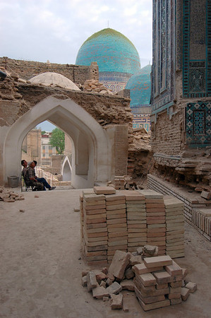 050426 3581 Uzbekistan - Samarkand - Shakhi Zinda Ensemble _D _H _N ~E ~L