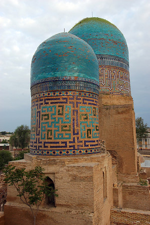 050426 3575 Uzbekistan - Samarkand - Shakhi Zinda Ensemble _D _H _N ~E ~L