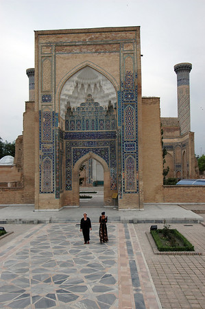 050425 3292 Uzbekistan - Samarkand - Gur Emir Mausoleum _D _E _H _N ~E ~P