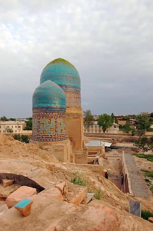 050426 3566 Uzbekistan - Samarkand - Shakhi Zinda Ensemble _D _H _N ~E ~L