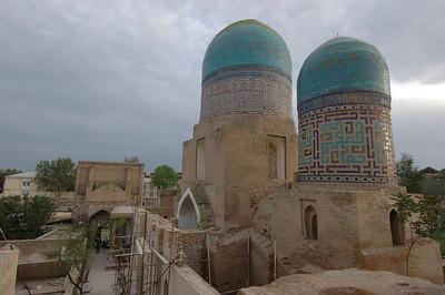 050426 3536 Uzbekistan - Samarkand - Shakhi Zinda Ensemble _D _H _N ~E ~L