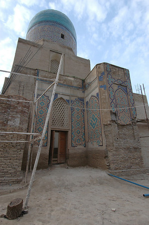 050426 3523 Uzbekistan - Samarkand - Shakhi Zinda Ensemble _D _H _N ~E ~L