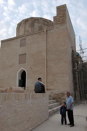 050426 3541 Uzbekistan - Samarkand - Shakhi Zinda Ensemble _D _H _N ~E ~L