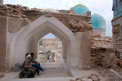 050426 3582 Uzbekistan - Samarkand - Shakhi Zinda Ensemble _D _H _N ~E ~L