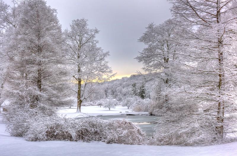 Ringwood Manor at Winter