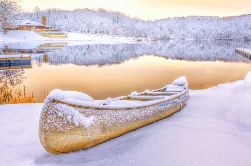 Golden Morning on Shepherds Lake