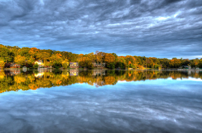 Cupsaw Lake Fall HDR UL