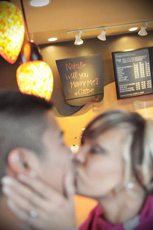 Featured Proposal: Gabe & Natalie @ Starbucks