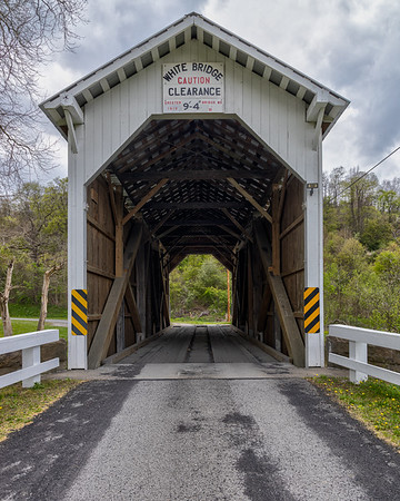 White Covered Bridge